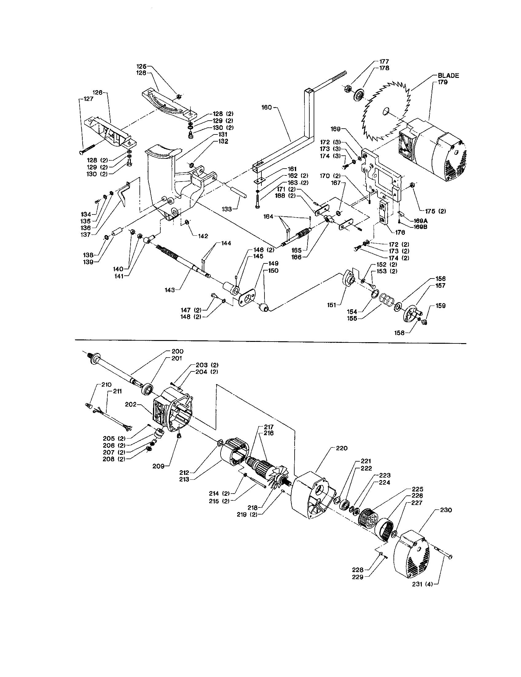 Ridgid Table Saw Motor Replacement
