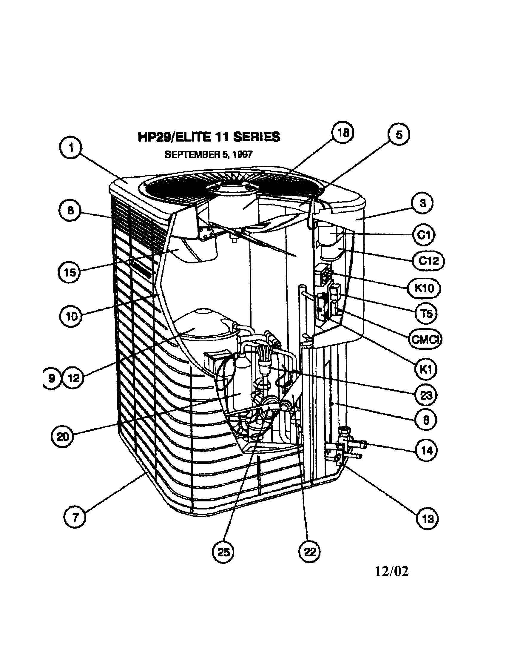 Lennox model hp29 048 1p air conditioner heat pump outside unit rh searspartsdirect lennox air