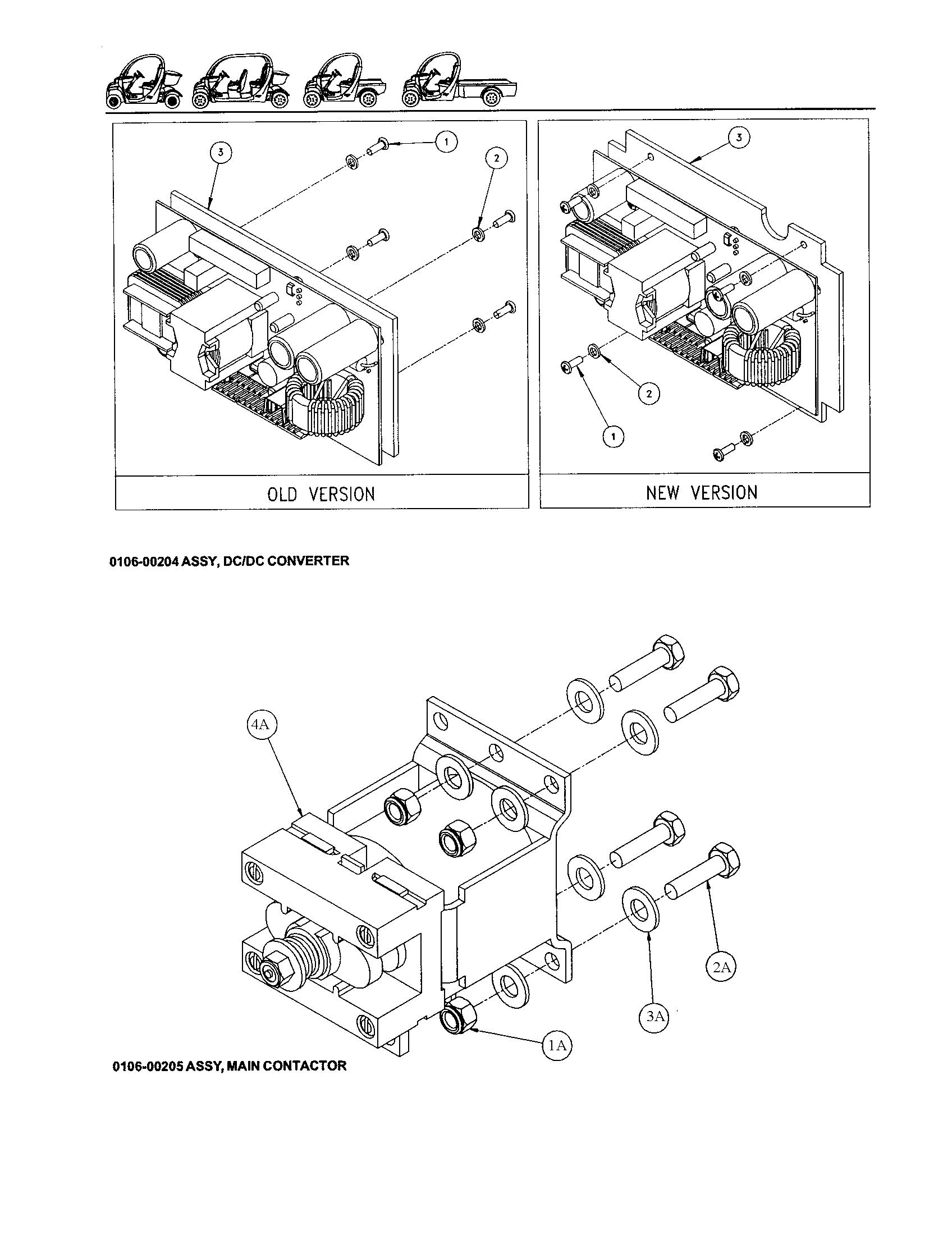 Battery Wiring Diagram For A Gem E825 Gem Car Wiring