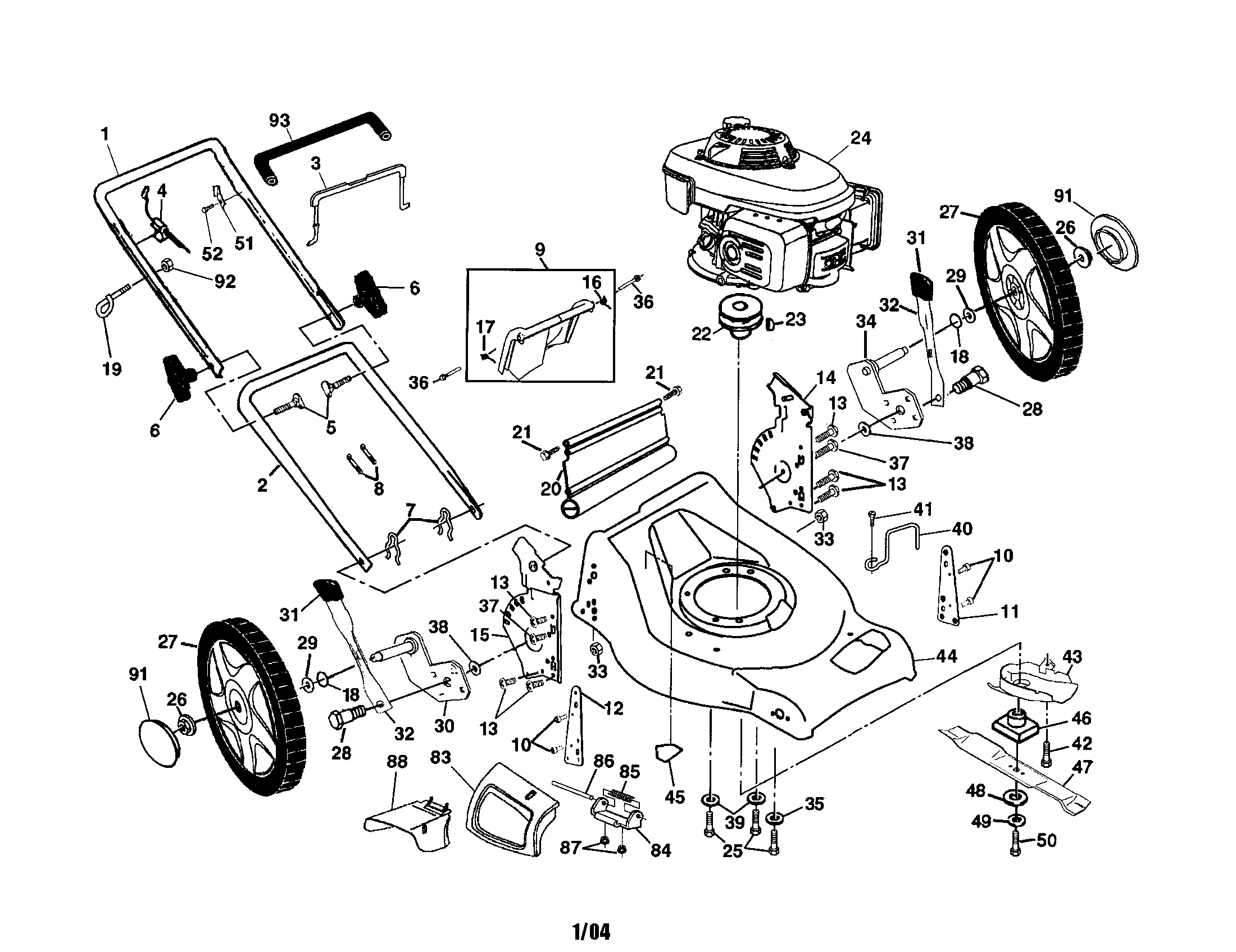 Spare Parts For Husqvarna Lawn Mowers