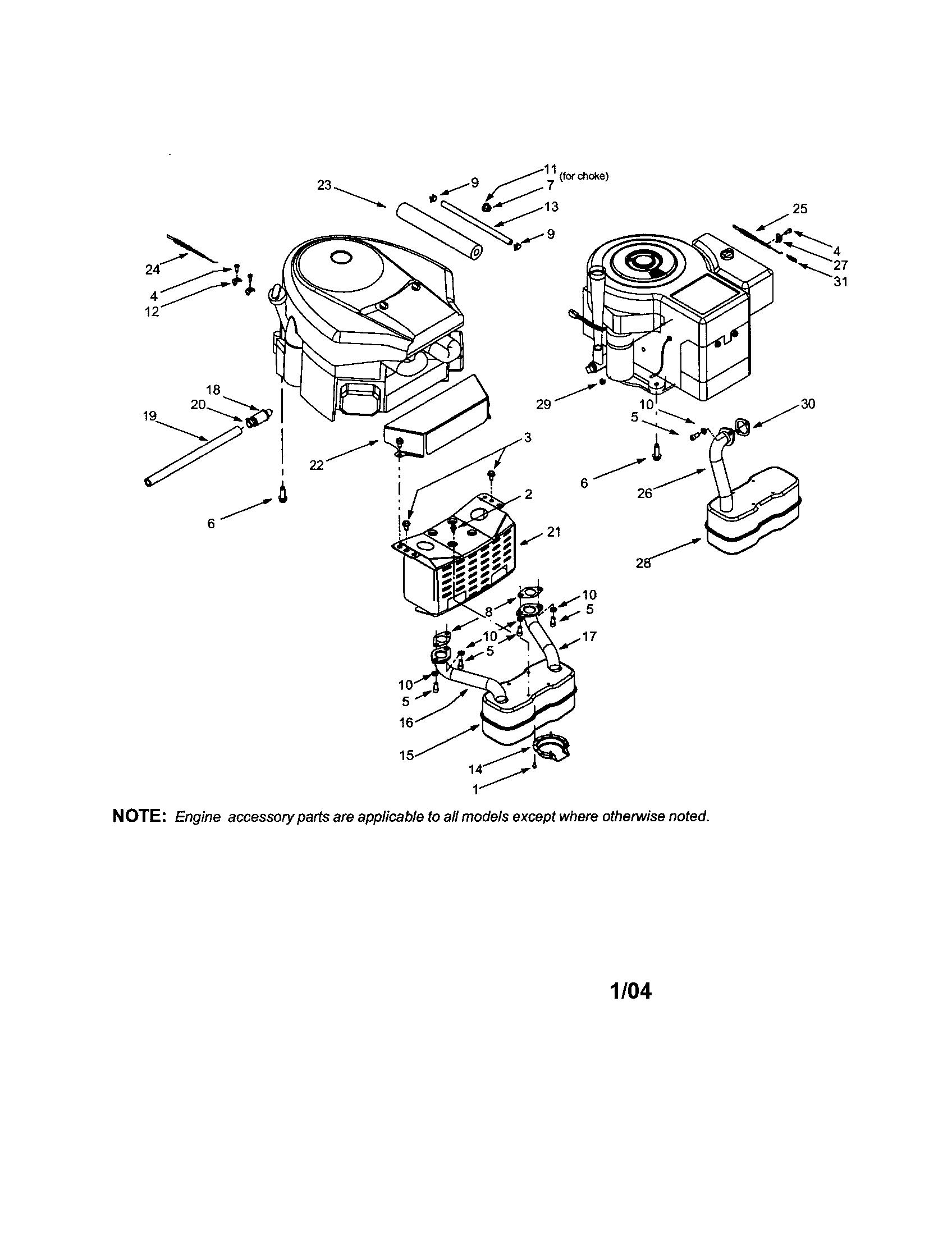 Manual Ltx 1000 Craftsman Parts