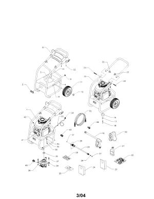 Pressure Washer Pump Diagram Generac  Pressure Washer