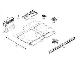 FANCONTROL UNITDOOR LATCH Diagram & Parts List for Model