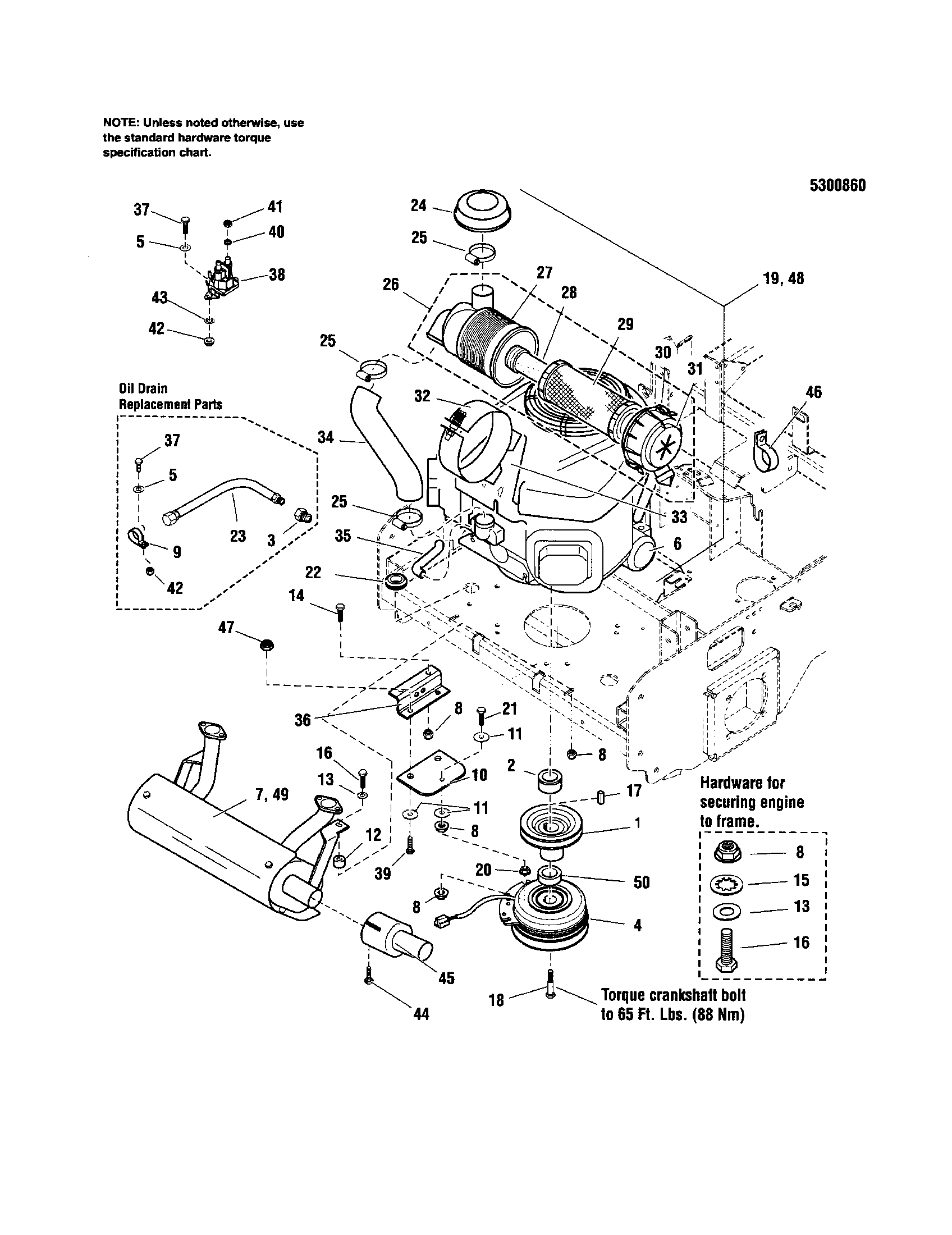 Snapper zero turn riding mower parts model 5900692 sears partsdirect rh searspartsdirect 27 hp kohler engine parts diagram kohler 27 hp engine parts