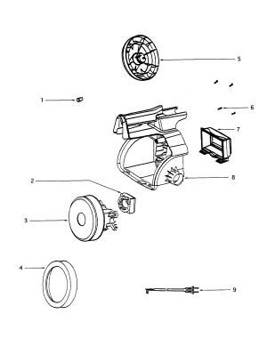 EUREKA Mighty Mite Attachments Parts | Model 3670E