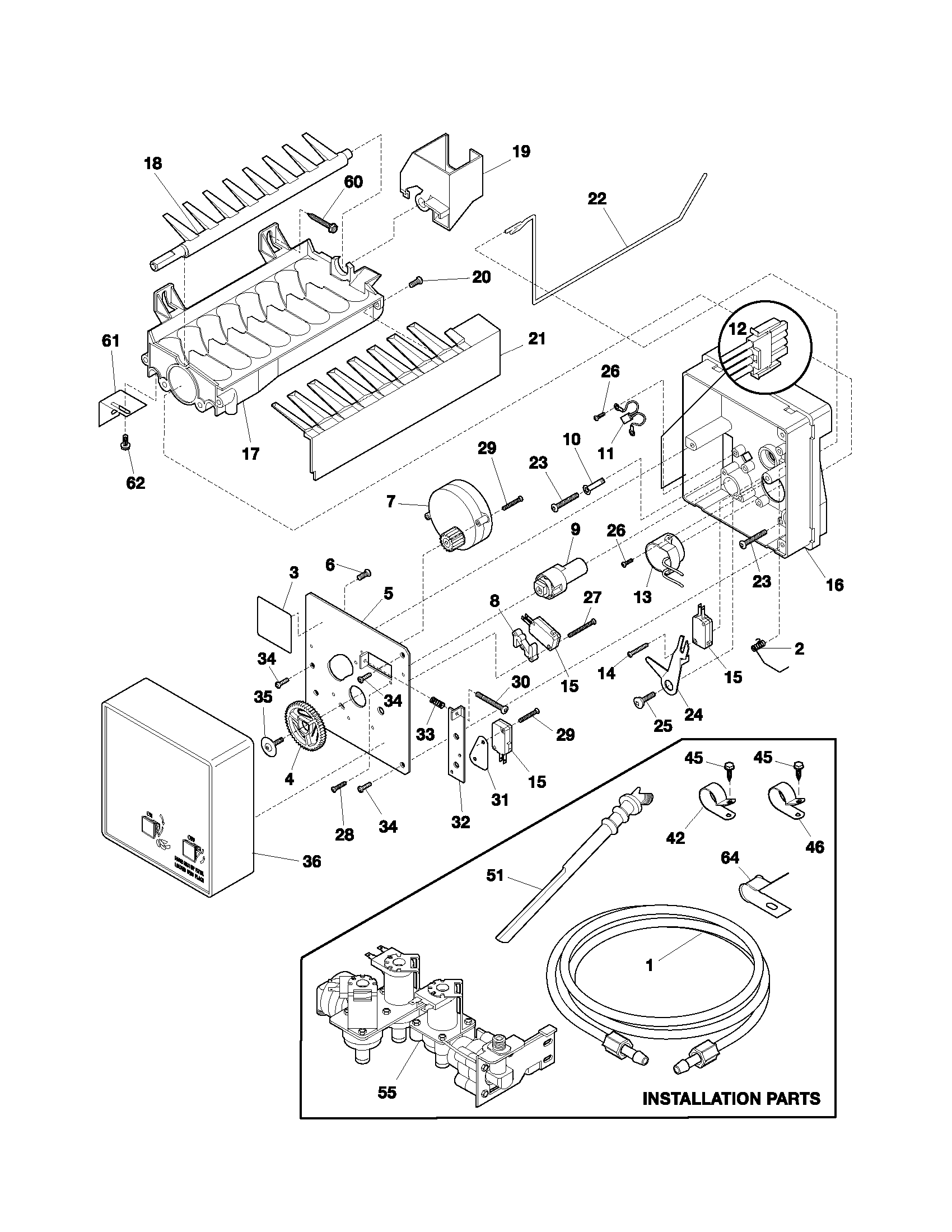 Wiring diagram for scotsman ice machine