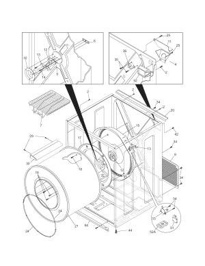 KENMORE DRYER Parts | Model 41784152500 | Sears PartsDirect