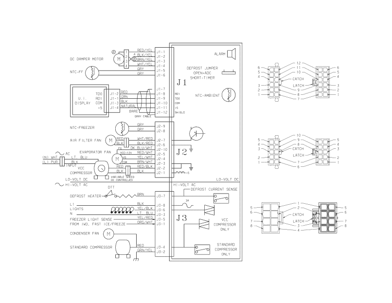 Kenmore Elite Refrigerator Wiring Diagram 10651142112 ... on