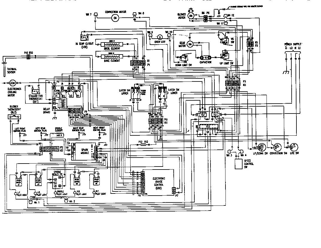 thermador range wiring diagram