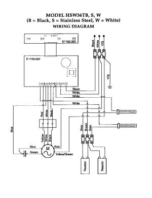 WIRING DIAGRAM Diagram & Parts List for Model hsw