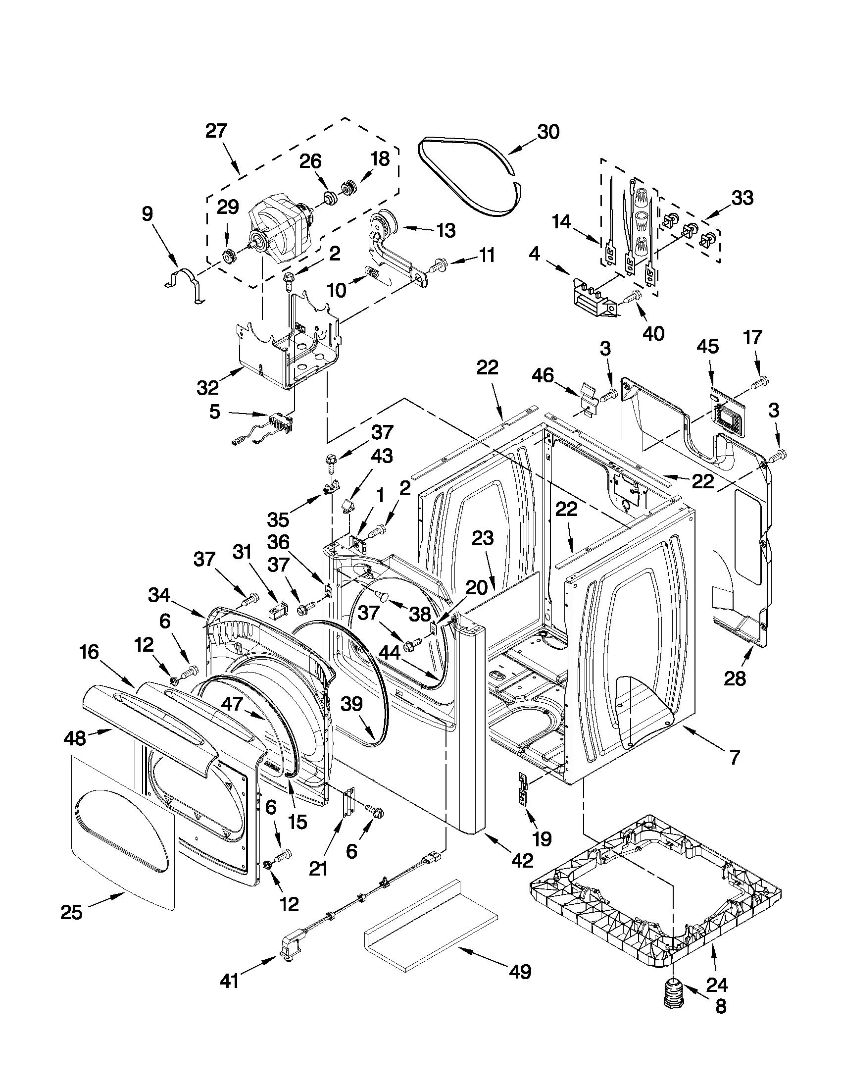 Cabi parts