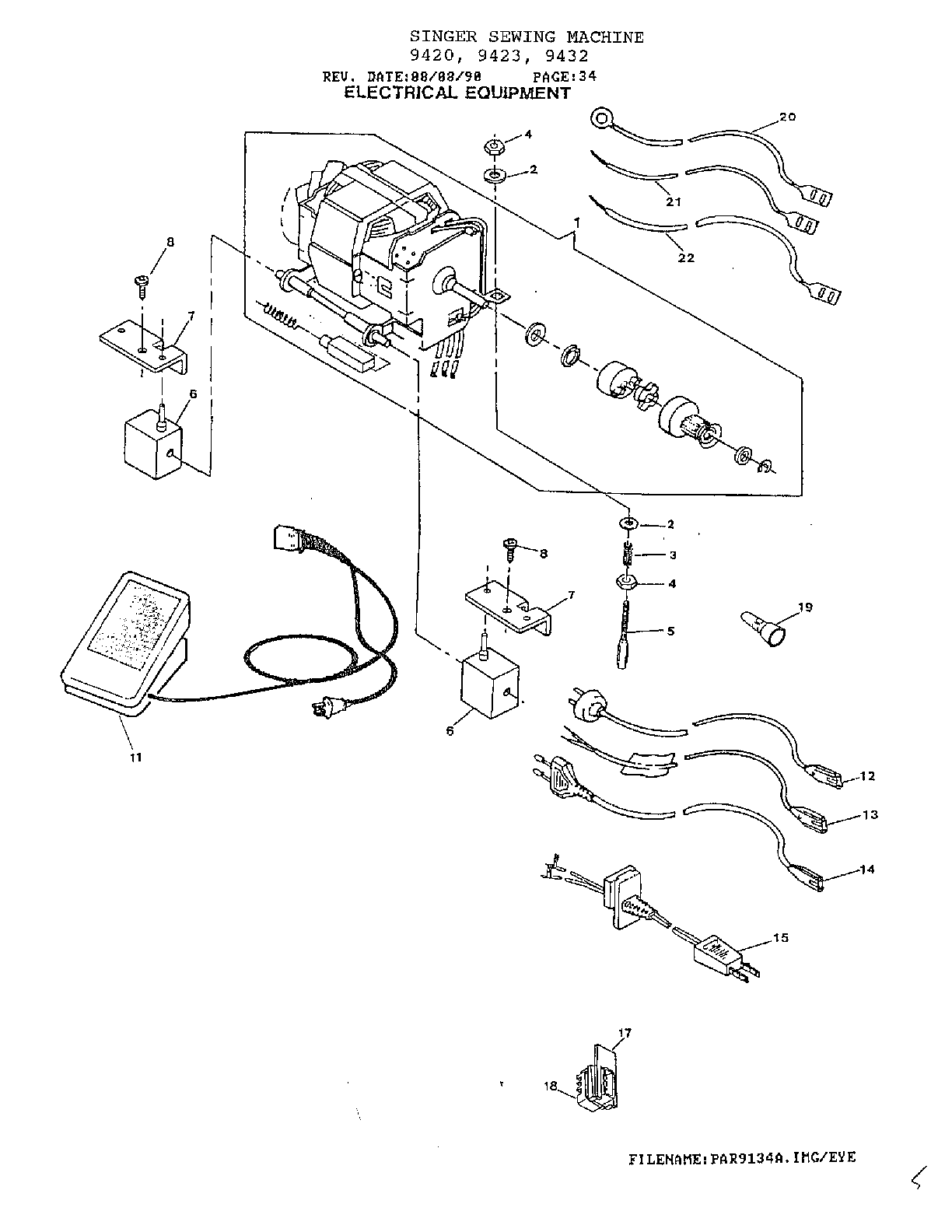 Singer model 9432 mechanical sewing machines genuine parts rh searspartsdirect kenmore sewing machine threading diagram sears kenmore sewing machine