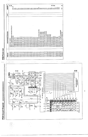 SAMSUNG Samsung Microwave Oven Parts   Model MW5350WXAA