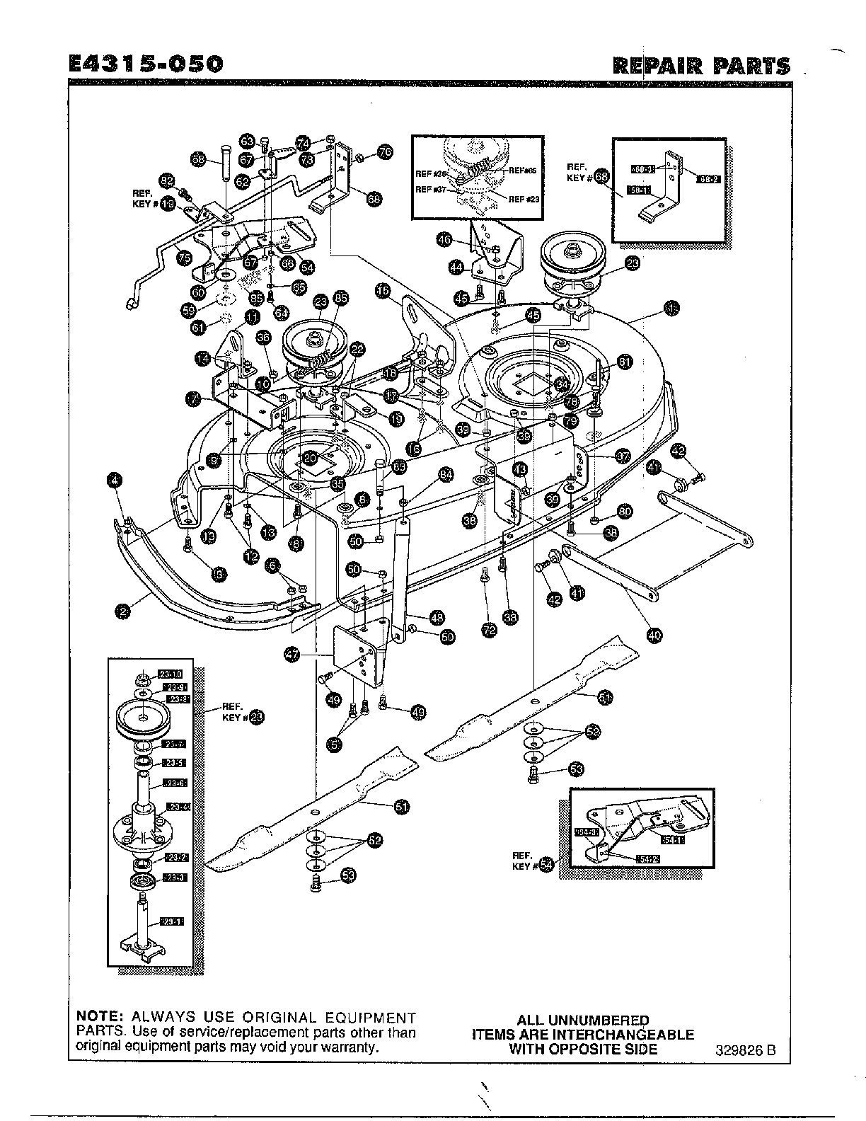 Noma model e4315 050 lawn tractor genuine parts rh searspartsdirect 1987 mazda b2000 vacuum hose diagram vlan ex le diagrams