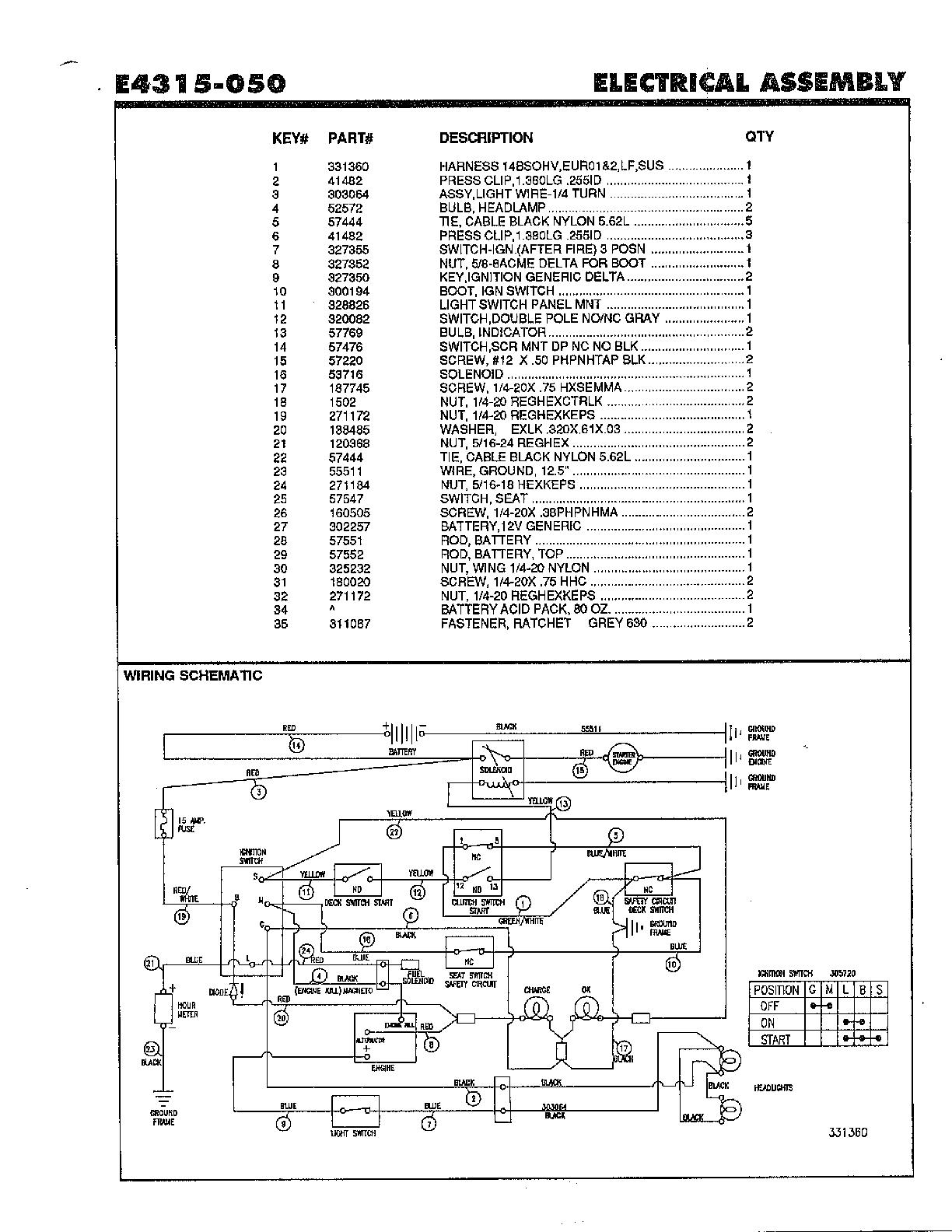 John Deere Gator 625i Wiring Diagram : 36 Wiring Diagram
