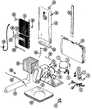 MAGIC CHEF MAGIC CHEF REFRIGERATION Parts | Model RC202TV | Sears PartsDirect