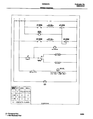 WIRING DIAGRAM Diagram & Parts List for Model cd302vp3w02
