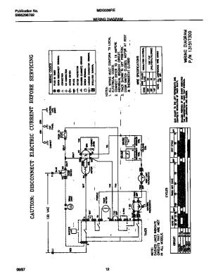 UNIVERSALMULTIFLEX (FRIGIDAIRE) Gas Dryer Wiring diagram