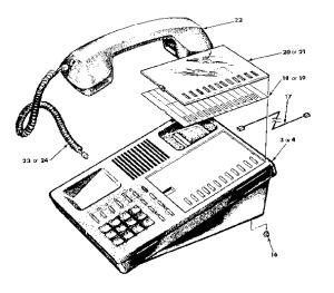 TRILLIUM TRILLIUM TELEPHONE Parts | Model PANTHER612
