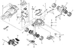 Nikko model 14071 radioremote control toys genuine parts