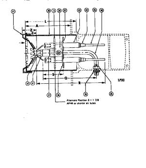 Beckett model AF OIL BURNER burner, furnace genuine parts