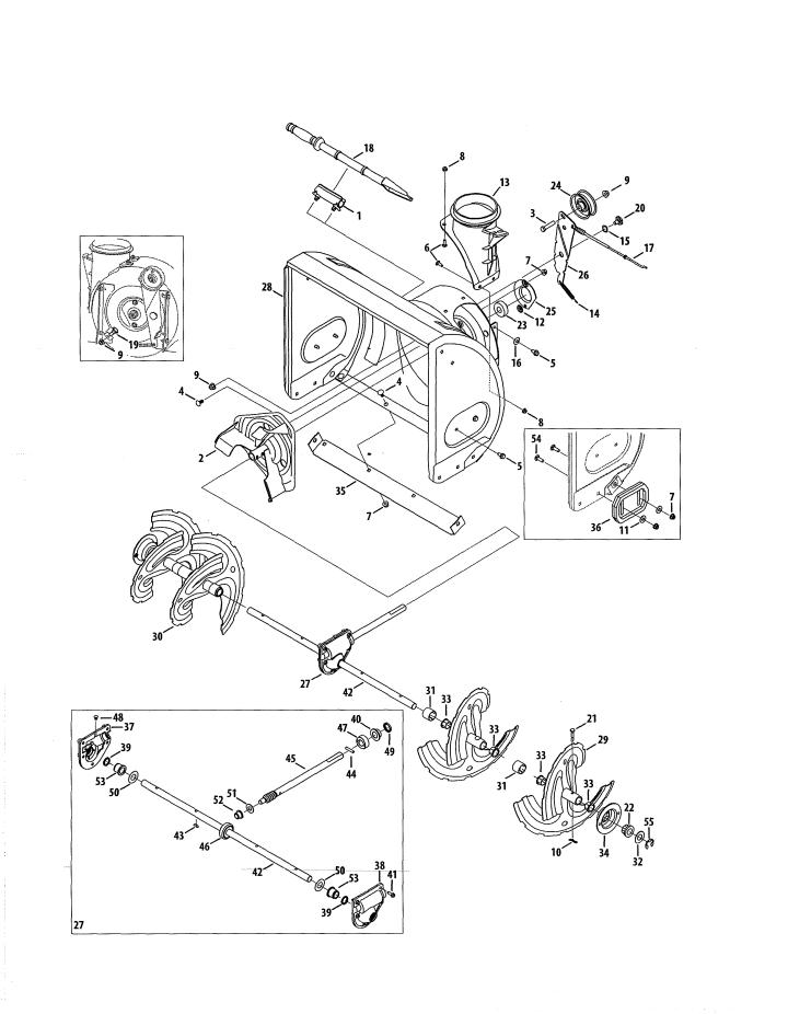 Model 247881721 | CRAFTSMAN SNOWTHROWER Parts