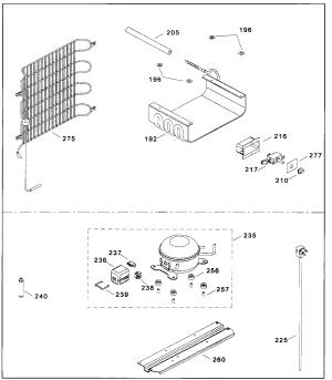 Danby Refrigerator Parts Diagram  Wiring Source