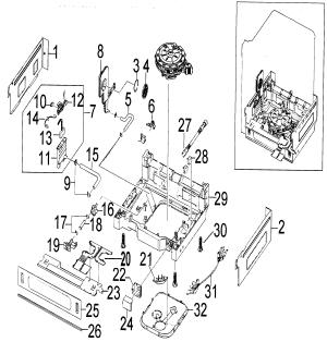 SAMSUNG DISHWASHER Parts | Model DMT300RFWXAA | Sears