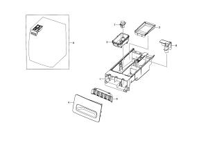 SAMSUNG WASHER Parts | Model WF210ANWXAA0001 | Sears