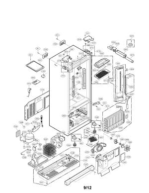 Lg Refrigerator Diagrams | Wiring Diagram And Schematics