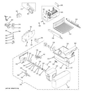 GE REFRIGERATOR X SERIES Parts | Model gsh25isxlss | Sears