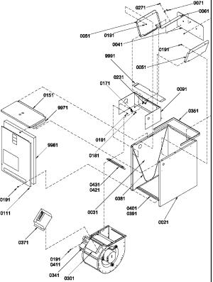 Amana model BBA48A2AP1206403C airconditionerheat pump(outside unit) genuine parts