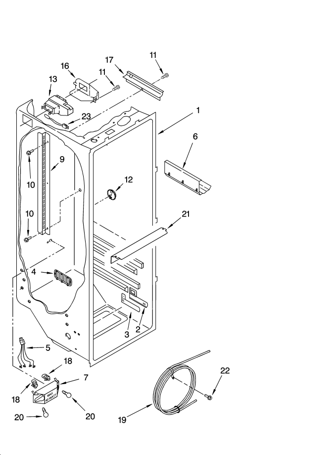 Kitchenaid Superba 42 Refrigerator