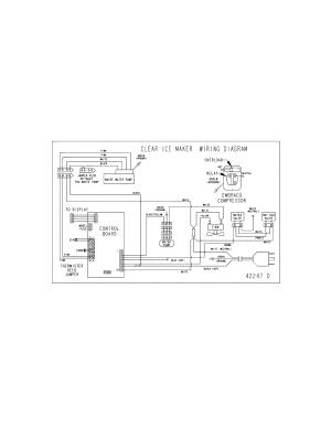Electrolux model EI15IM55GS0 freestanding icemaker genuine parts