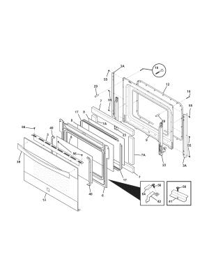 KenmoreElite model 79041073101 slidein range, electric genuine parts
