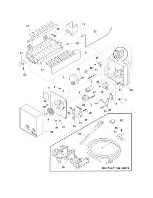 FRIGIDAIRE REFRIGERATOR Parts | Model ffhs2622msf | Sears