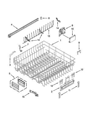 KITCHENAID UNDERCOUNTER DISHWASHER Parts | Model