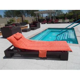cover up towel sun towel orange lounge