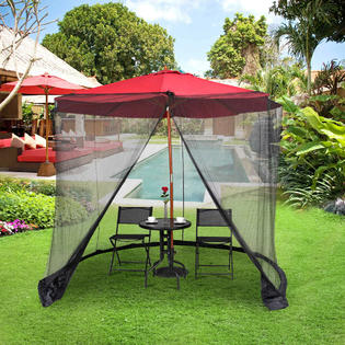 goplus op3306 9 10ft umbrella table