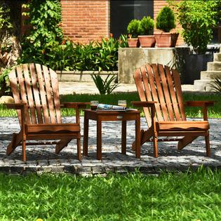 gymax gys04795 3pcs patio furniture set