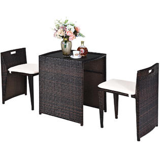 gymax patio furniture glass kmart