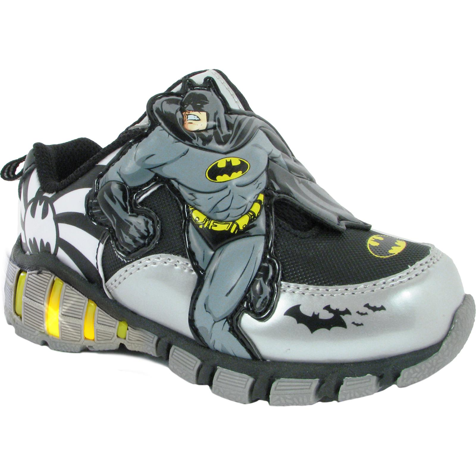 DC Comics Batman Toddler Boys BlackSilverYellow Light