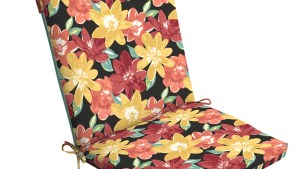 Clean Look Chair Cushion Bright Floral *Limited Availability