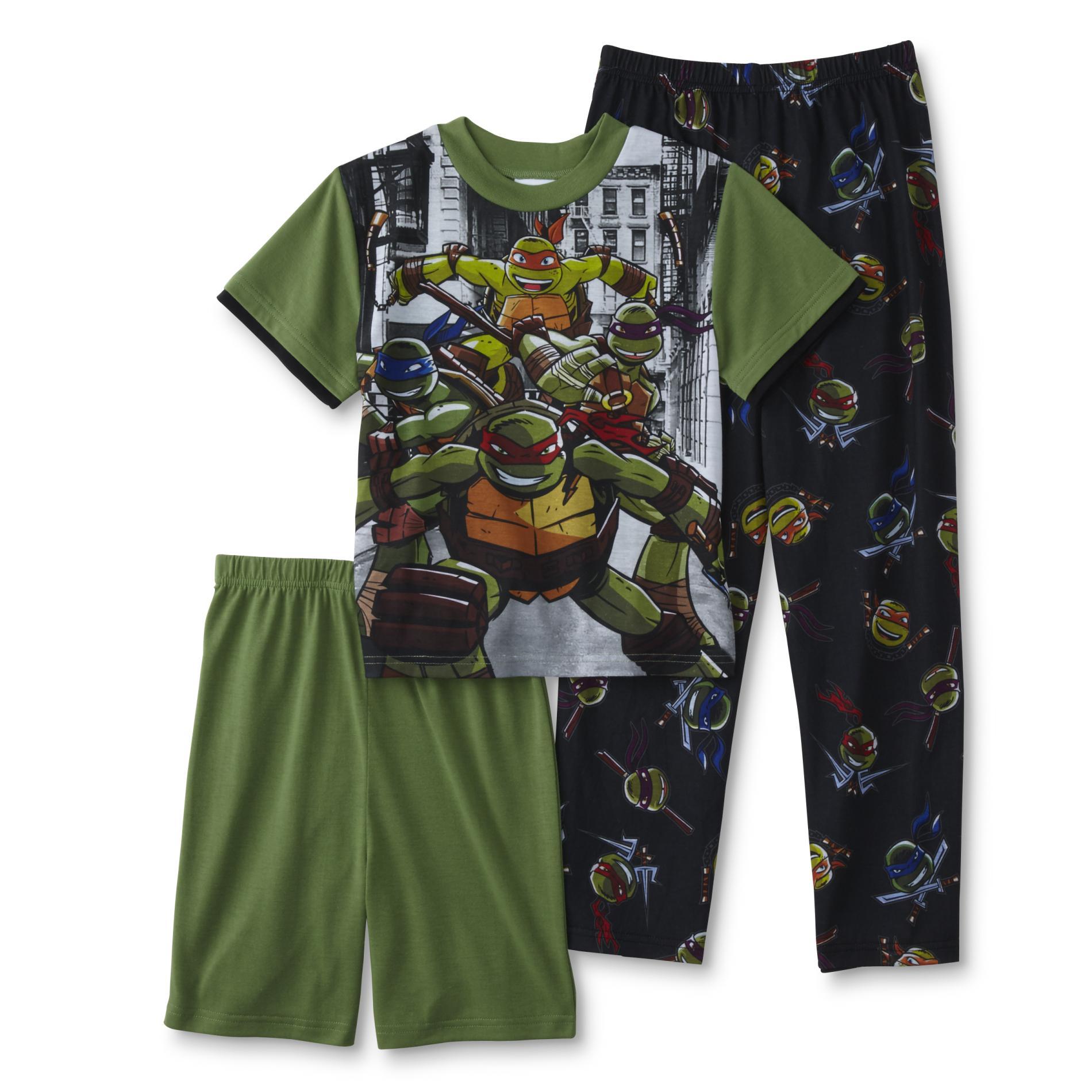 Teenage Mutant Ninja Turtles Boys Pajama T Shirt Shorts