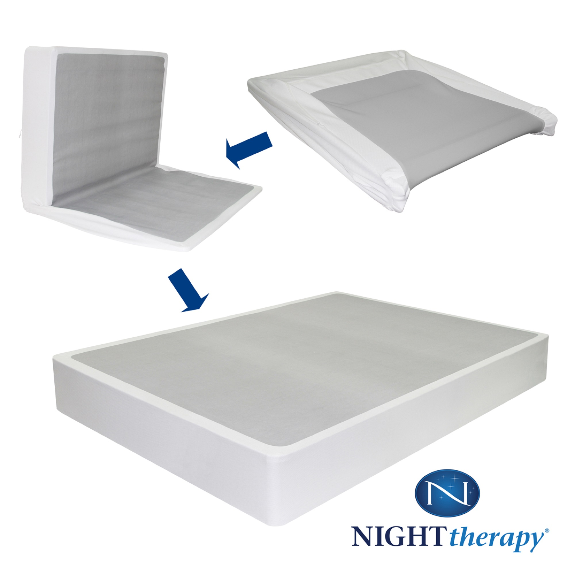 UPC 841550048278 Night Therapy BiFold BoxSpring Full