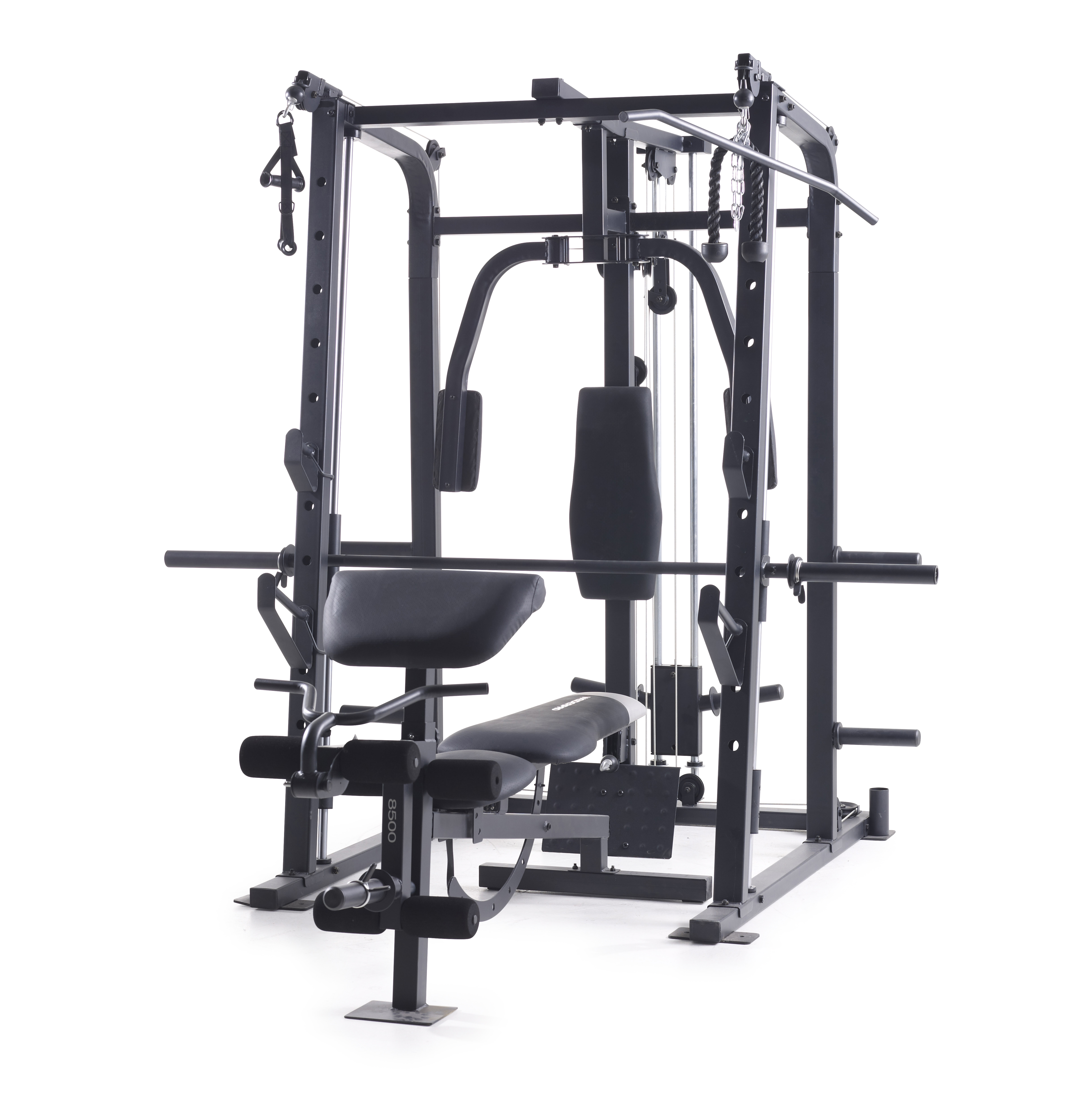 Weider Pro 8500 Smith Weight Cage Fitness Amp Sports