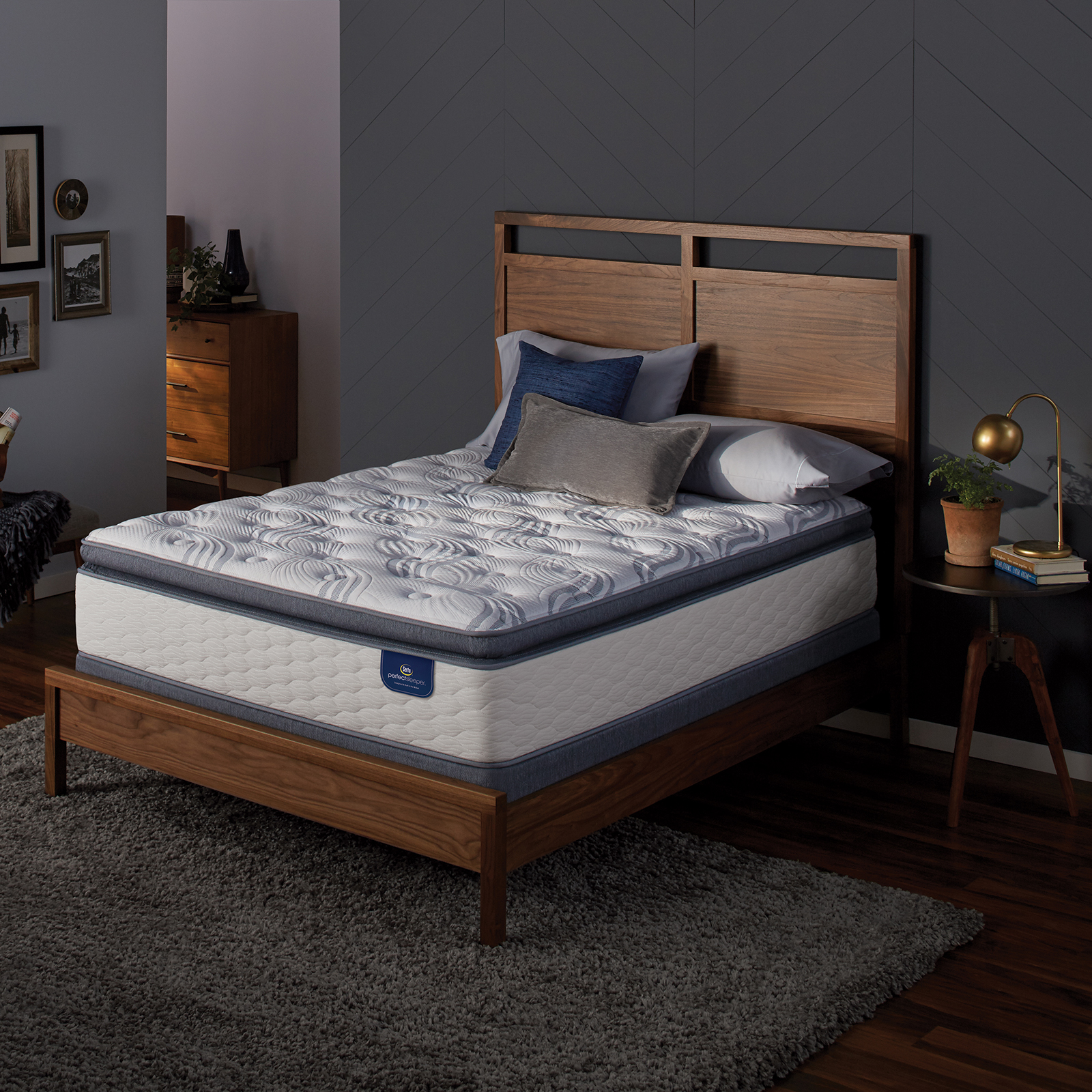 Serta Perfect Sleeper Teddington Plush Full Mattress