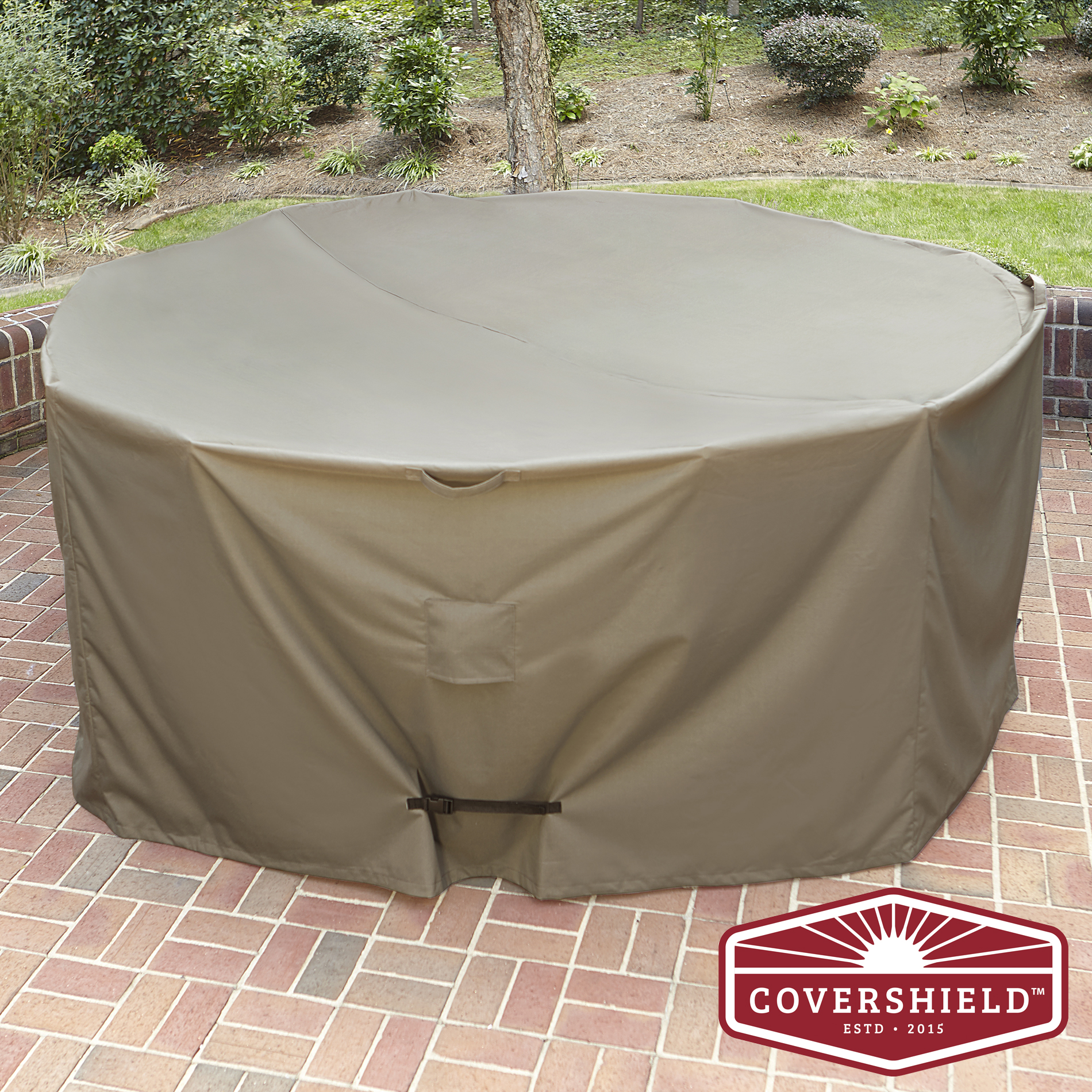 Covershield Oversized Round Furniture Cover Elite