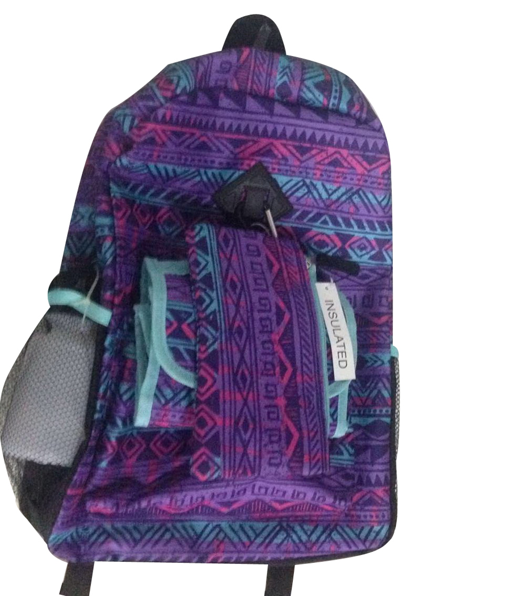 Accessories22 Girls 5 Piece Backpack Tribal Fitness