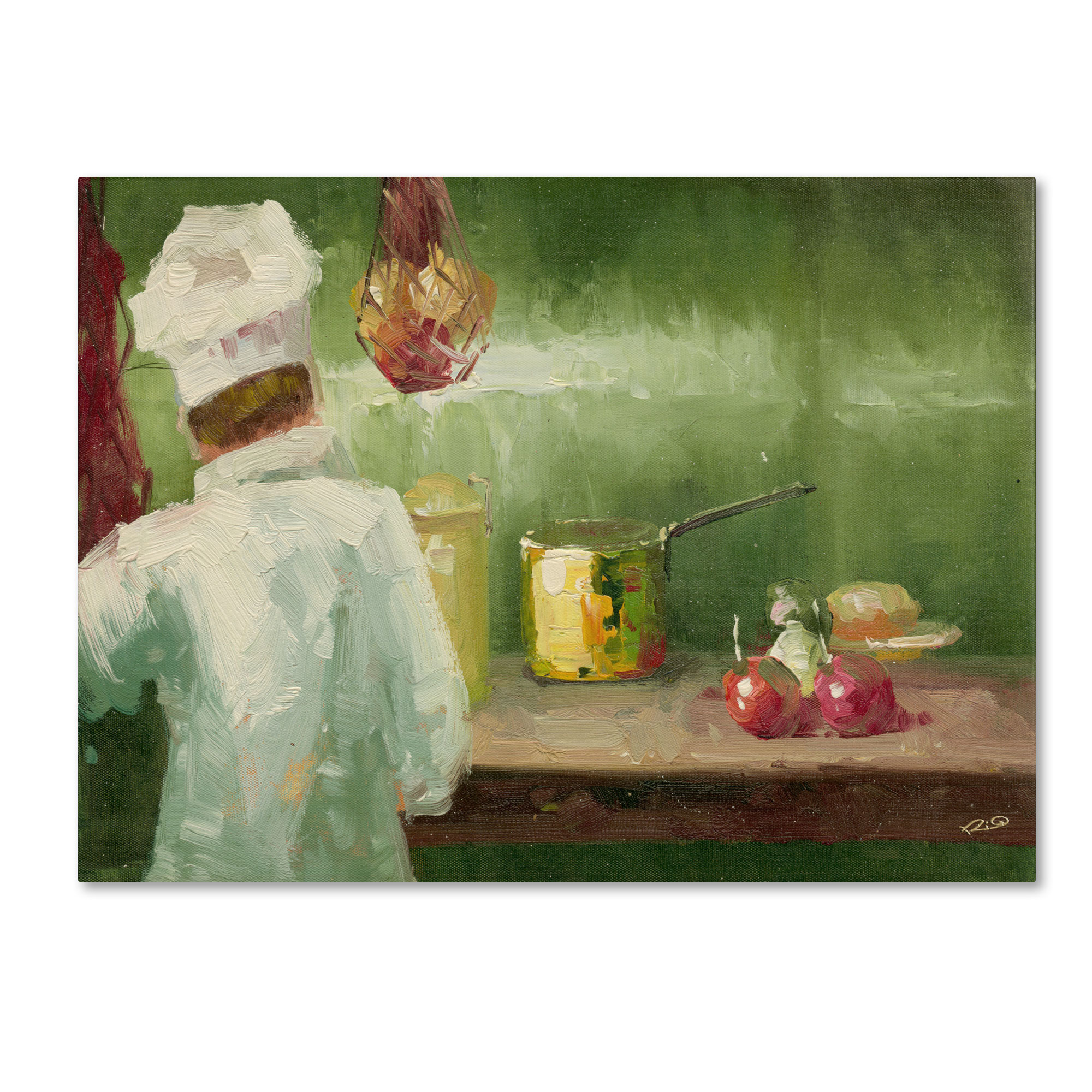 Trademark Global Rio Whats Cooking Canvas Art